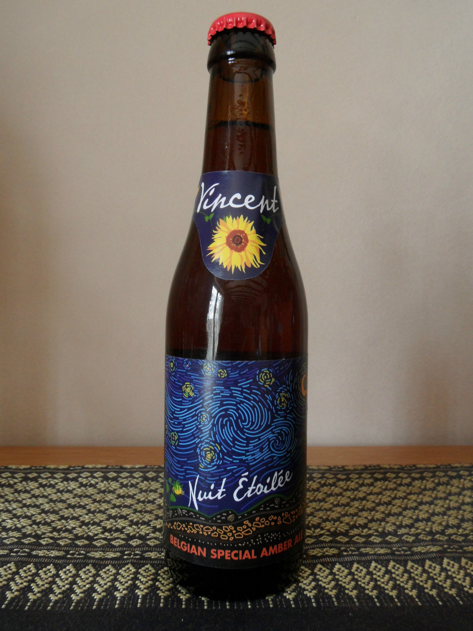 "Vincent Van Gogh beer : ""Nuit Etoilée"" (Starry Night)"