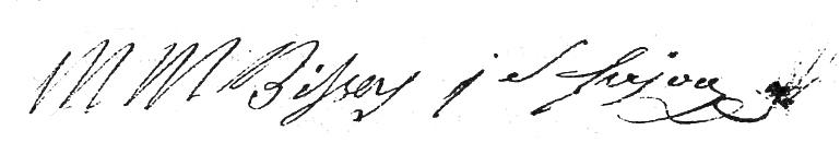 Signature Bissey Sajou