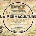 Conférence sur la permaculture