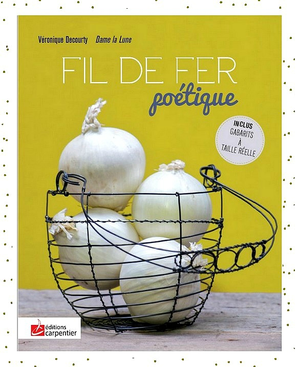fil de fer poétique_ auteur_Véronique DECOURTY_Editions carpentier_Dame la Lune