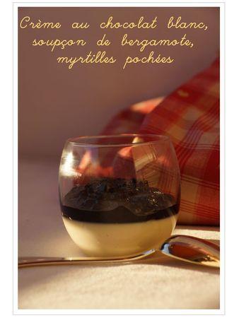 panna cotta chocolat blanc