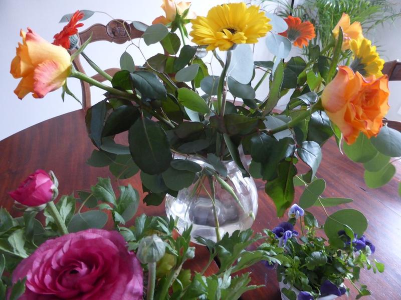 Le bouquet du week end point de croix and co for Bouquet fleuri