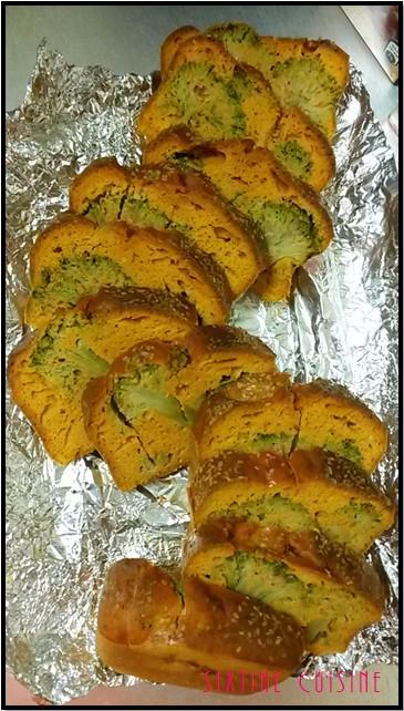 Cake au brocolis 2
