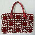 Sac pretty woman rouge et blanc...