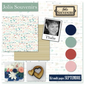 Kit Atelier Multi-Pages de Septembre 2014 par Thalie