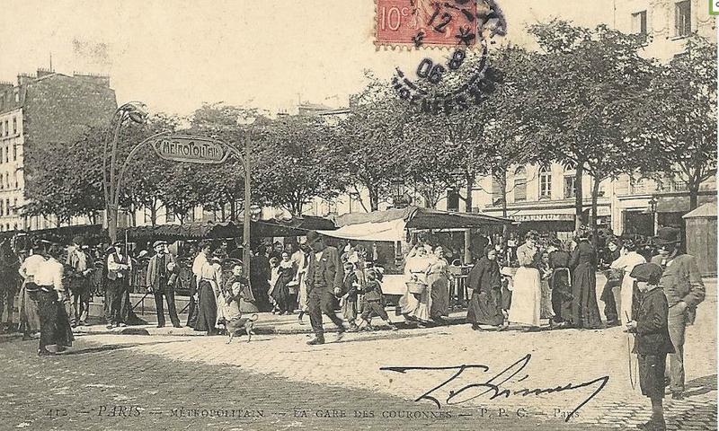 Métro, Gare des Couronnes