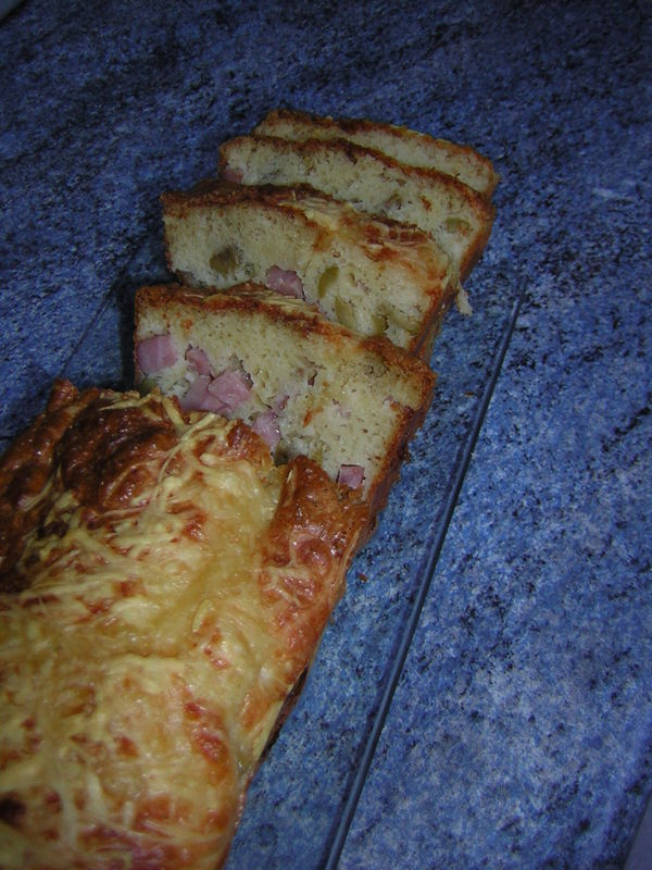 cake olive/jambon