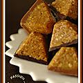Ah !!!... saveurs ... quand tu nous tiens ! bouchees d'avoine, caramel au beurre sale & chocolat
