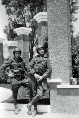 Camp de la Jonquiere à casablanca 1941 F JAULT