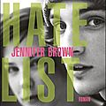 Hate List de Jennifer Brown