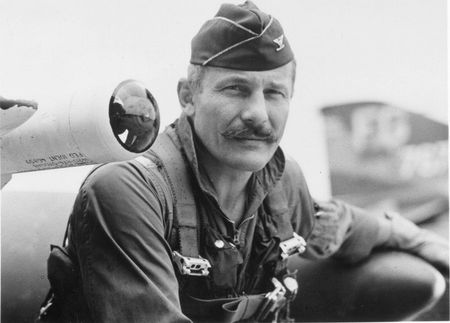 COL-Robin-Olds-with-AIM-9-Sidewinder