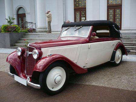 ADLER Trumpf Junior cabriolet 1936 Baden Baden (1)