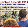 Assemble gnrale 2013 