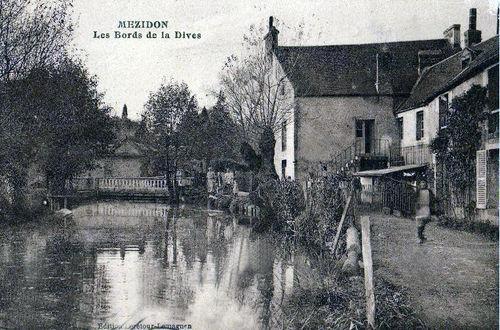 Mézidon - Les bords de la Dives (rue Jules Guesde)