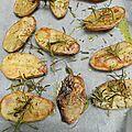 Pommes de terre oubliées au four