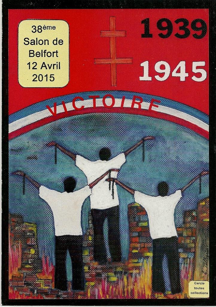 Carte postale Seconde Guerre Mondiale 1939-1945 La Victoire