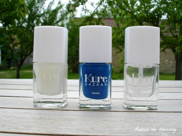mon bleu kure bazaar vernis bio naturel top coat et base 2