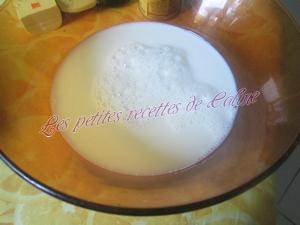 Crème à la vanille et Safran01