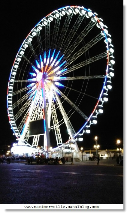 la grande roue paris dec 2015 - marimerveille