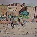 Planche 30 - Taourirt Ouarzazate - les mokhzanis