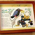 incruste de tissus-2008 offert à Noël à Janine brune (1)