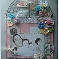 Home déco cage shabby