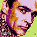 Nuancier pop'art A, Sean Connery