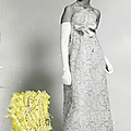 Balenciaga, robe du soir, 1967
