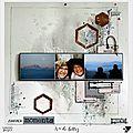 Zoom création : calendrier à personnaliser/page d'is@ de belley