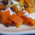 Azuki, butternut, et patate douce simplement 