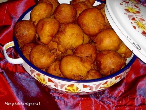 Version africaine des beignets à la banane