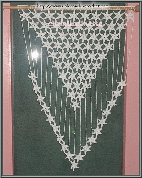 Rideau photo de crochet d 39 art le blog de christhalinette - Faire ses rideaux au crochet ...