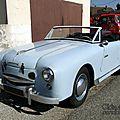 Panhard dyna junior cabriolet 1954-1956