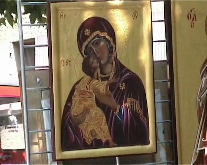 vierge à l'enfant Jésus 2