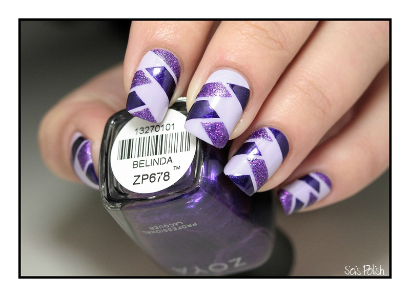 [TUTO] Braided Nails au Striping Tape.