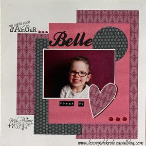 5 - Belle comme un coeur