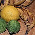 Des bananes moches? et une tatin caramélisée au beurre et parfumée au rhum et la cannelle. et toc!