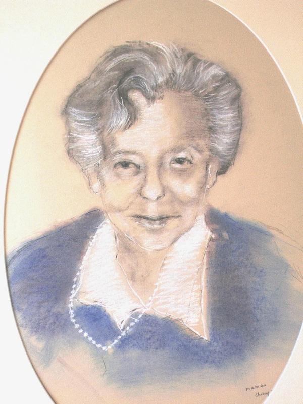 portrait Maman