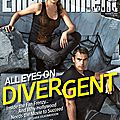 Divergent movie Entertainment Weekly cover