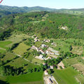 2009 05 12 Vu aérienne depuis l'ULM entre Etoile-sur-Rhône et Chez moi à Madelonnet (48)