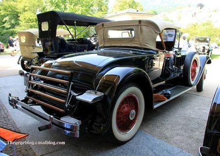 Packard type 640 custom eight roadster de 1929 (34ème Internationales Oldtimer meeting de Baden-Baden) 02