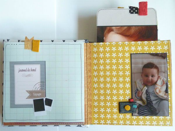 Mini album au bord de l 39 oc an mlle terra moka le blog - Album photo pochette plastique ...
