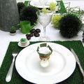déco de table - un déjeuner sur l'herbe du jardin des oliviers en DEUX SEVRES et de www.coeurdartichaut.com