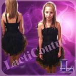 robe de léna organza noir