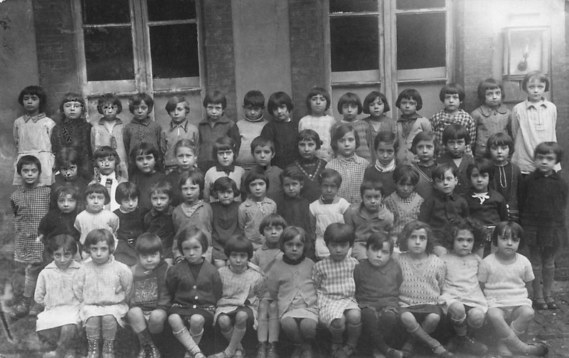 photo de classe Lamartine 1930