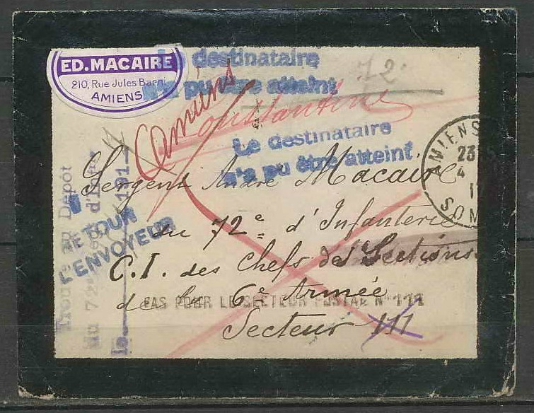 courrier macaire