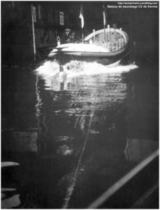 CH11 - Lancement du bateau de sauvetage CV de Kerros à Fécamp au CNN 1