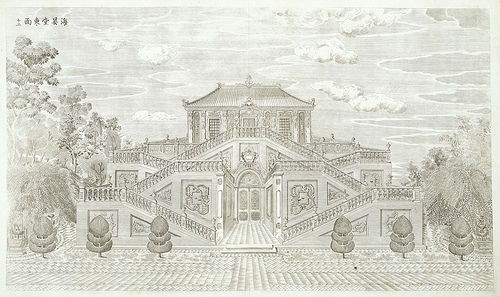 Baroque Architecture Drawings After Drawings by yi