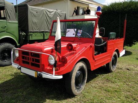 AUTO UNION DKW Munga 91-6 Vehicule Incendie 1965 Festival des Voitures Anciennes de Hambach 2010 1