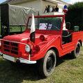 Dkw auto-union munga 91/6 vehicule d'incendie 1965